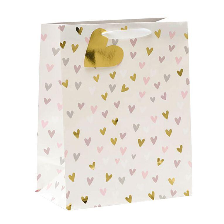 John Sands Gift Bag Large Soft Hearts, , hi-res