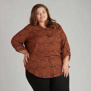 H&H Plus Women's Chiffon Shirt