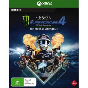 Xbox Series X Monster Energy Supercross 4