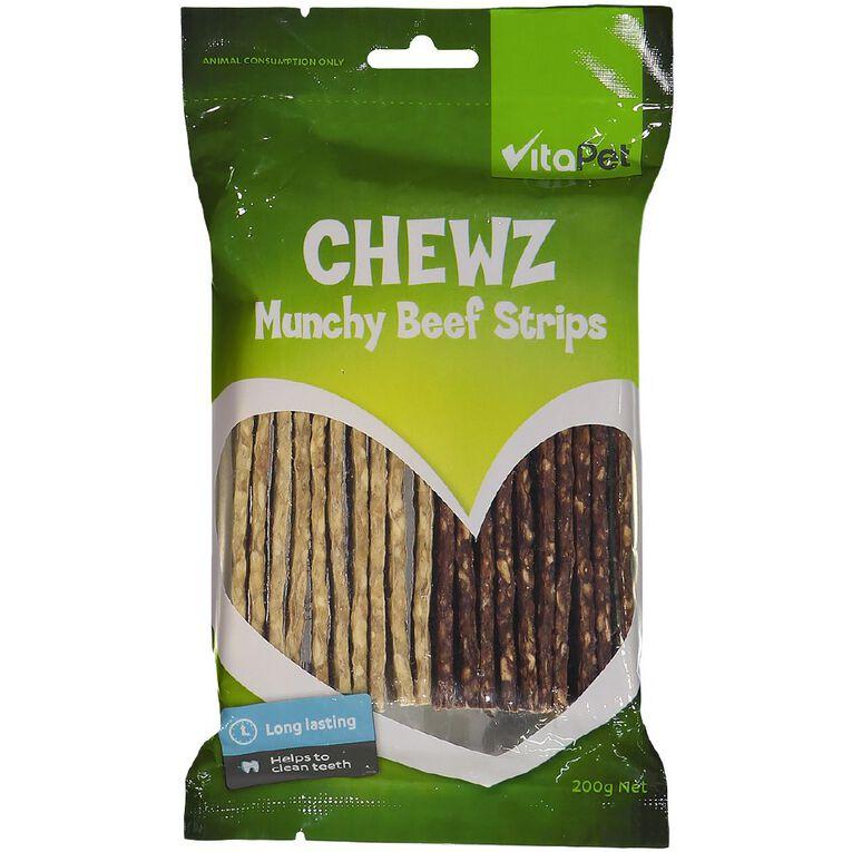 Vitapet Munchy Strips 20 Pack, , hi-res image number null