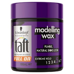 Taft Full On Wax Modelling Wax 100ml