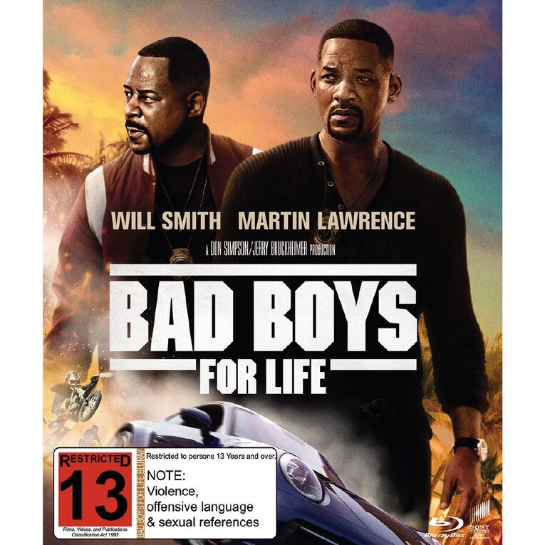 Bad Boys For Life Blu-ray 1Disc, , hi-res