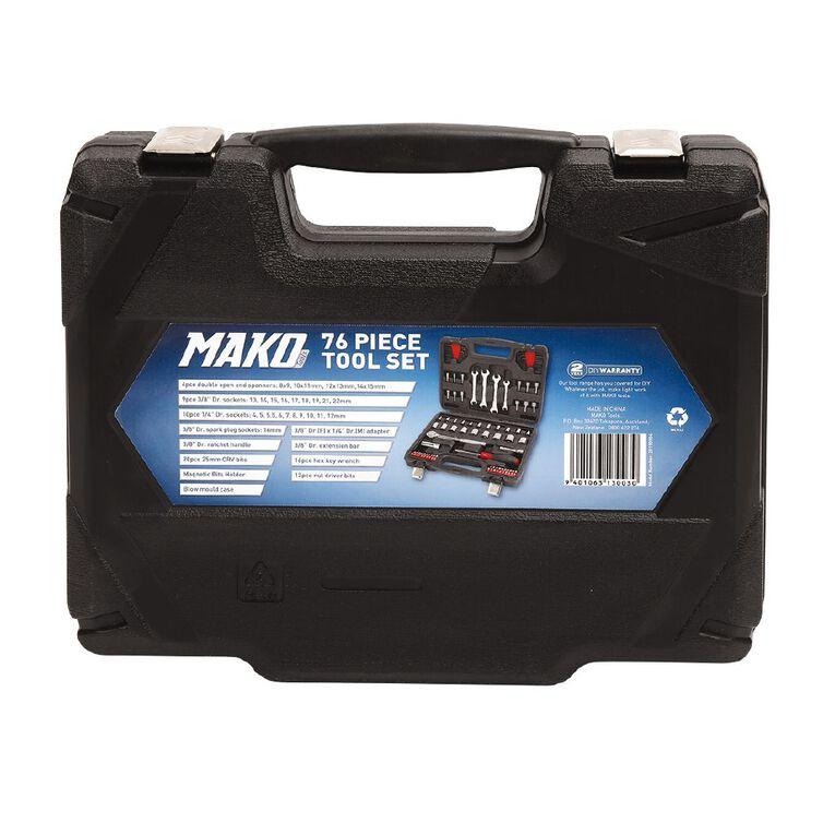Mako 76 Piece Tool Set, , hi-res