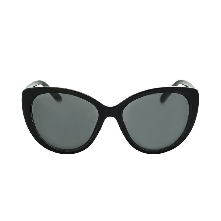 H&H Women's Black Cat Sunglasses, Black, hi-res