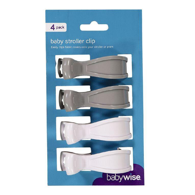 Babywise Stroller Clip 4 Pack, , hi-res