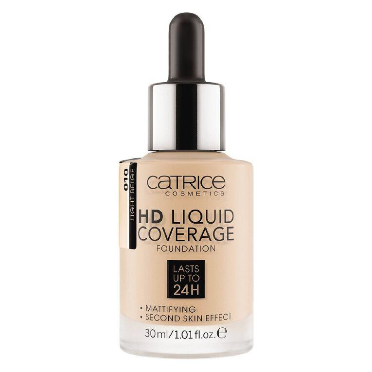 Catrice HD Liquid Coverage Foundation 010, , hi-res