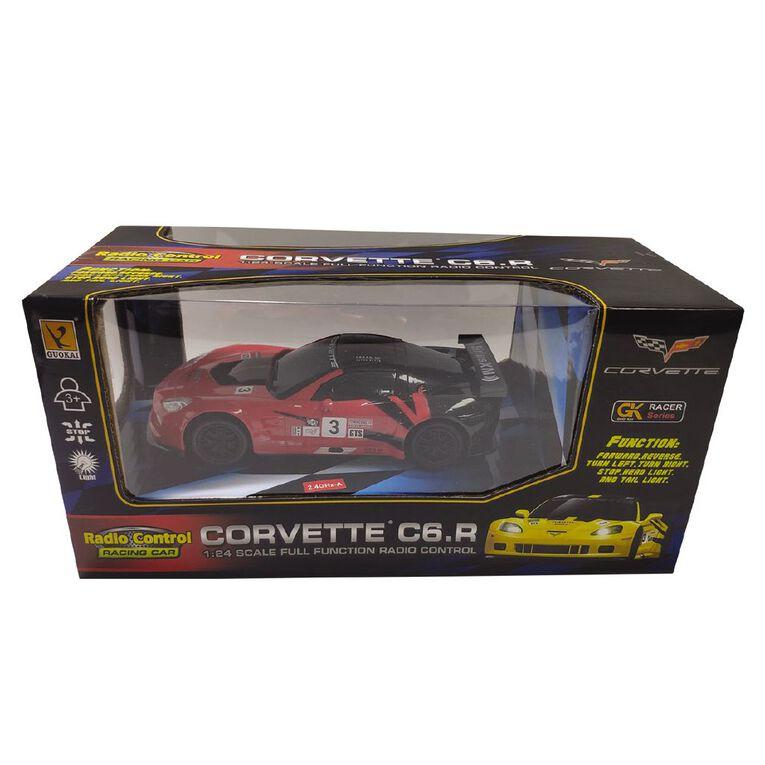 Radio Controlled 1:24 Corvette Premium Racing C6R, , hi-res