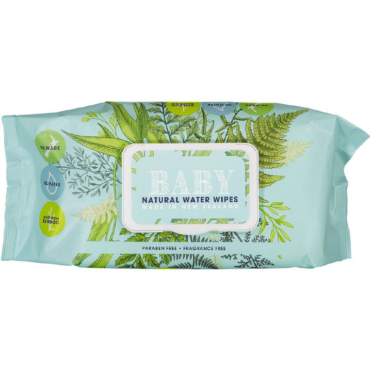 Natural Baby Water Wipes 72s, , hi-res