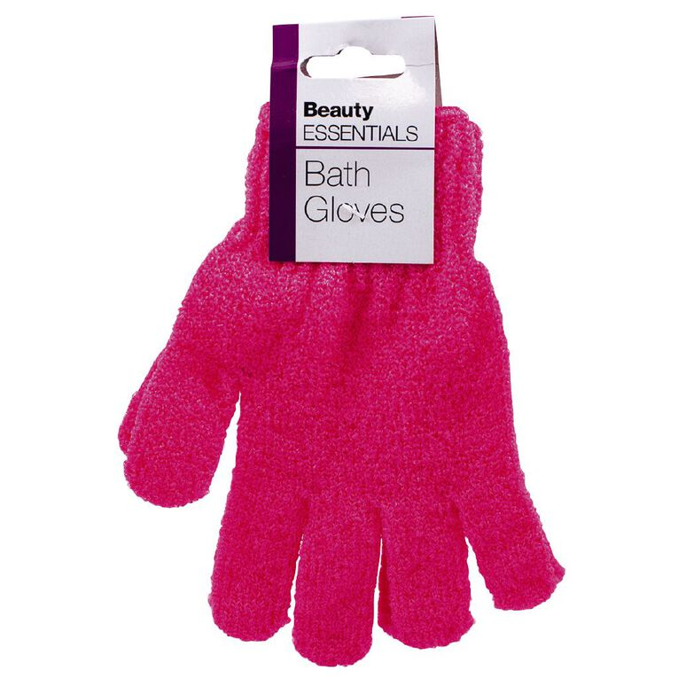 Beauty Essentials Bath Gloves, , hi-res