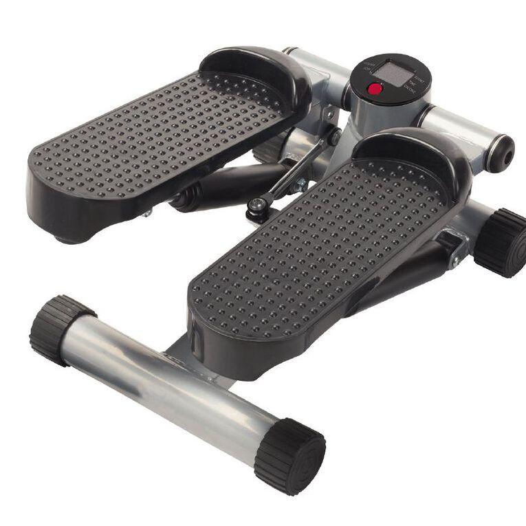 Active Intent Fitness Mini Stepper Black/Grey, , hi-res