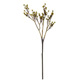 Living & Co Artificial Berry Stem Yellow 69cm