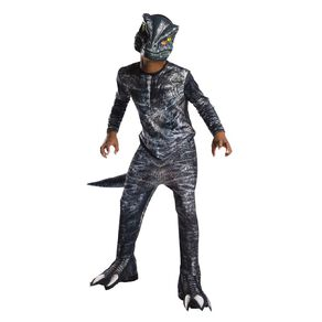 Jurassic World Rubies Velociraptor Costume Size 5-7 Years