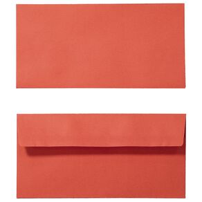 Create With DL Envelope 25 Pack Red