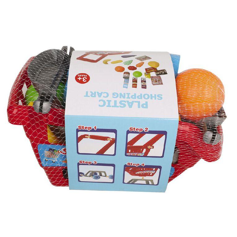Play Studio Plastic Shopping Cart, , hi-res