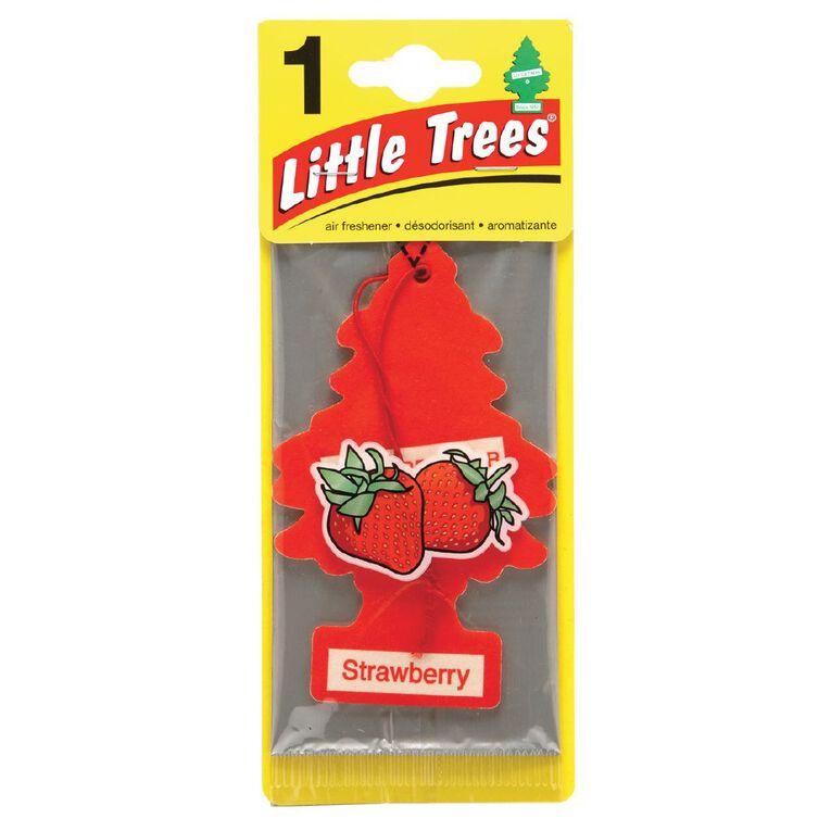 Little Trees Hanging Auto Air Freshener Strawberry, , hi-res
