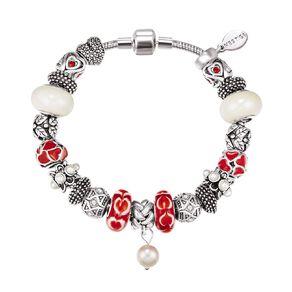 Mestige Crystals from Swarovski' Doting Bracelet in Silver