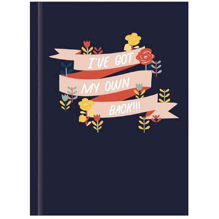 Uniti Platinum Visual Diary Hardback Empowerment A4, , hi-res