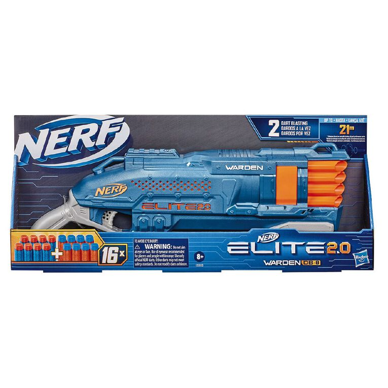 NERF Elite 2.0 Warden DB 8, , hi-res
