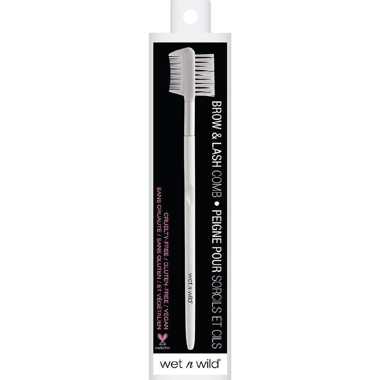 Wet n Wild Makeup Brush Brow & Lash Comb, , hi-res