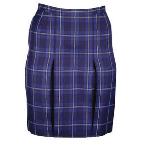 Schooltex Inverted Pleated Tartan Skirt