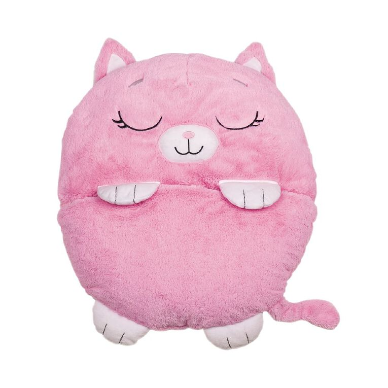 Happy Nappers Pink Cat Large 168cm, , hi-res