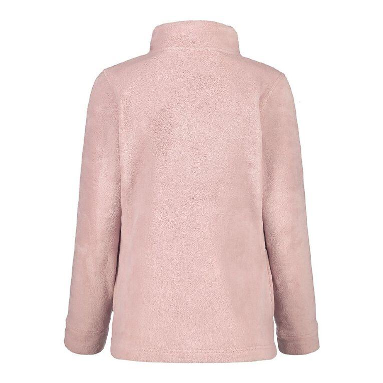 Pickaberry Women's Heavenly ZipThru Fleece, Purple Light, hi-res