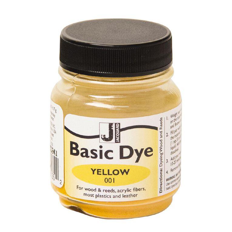 Jacquard Basic Dye 14.17g Yellow, , hi-res