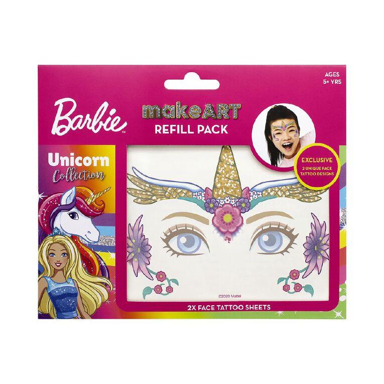 Barbie Makeart Face Gems/ Face Tattoos Refills, , hi-res