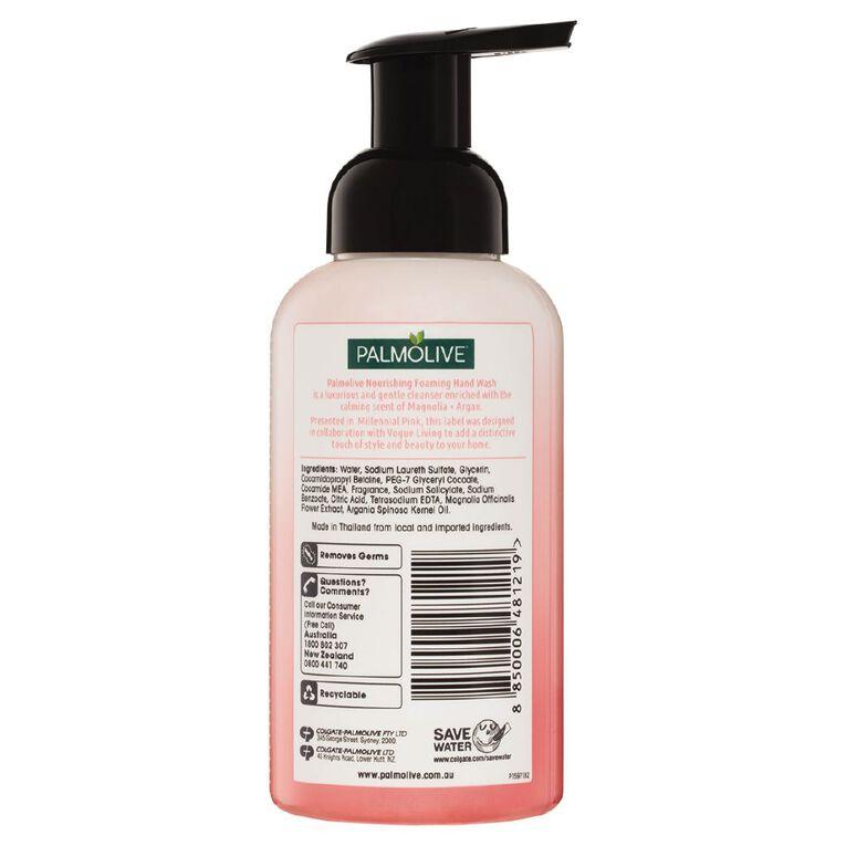 Palmolive Foaming Hand Wash Pump Magnolia & Argan Oil 400ml, , hi-res