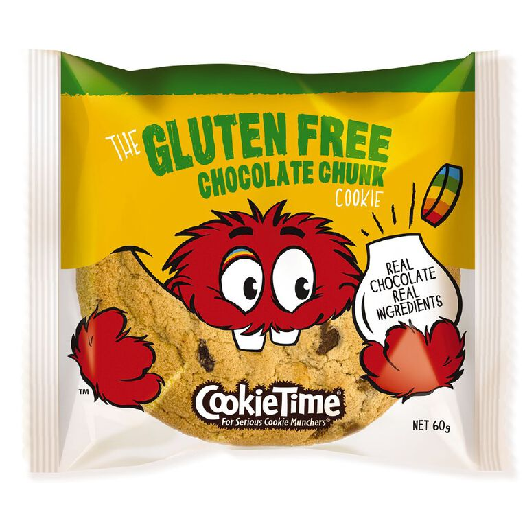Cookie Time Gluten Free Chocolate Chunk Cookie 60g, , hi-res