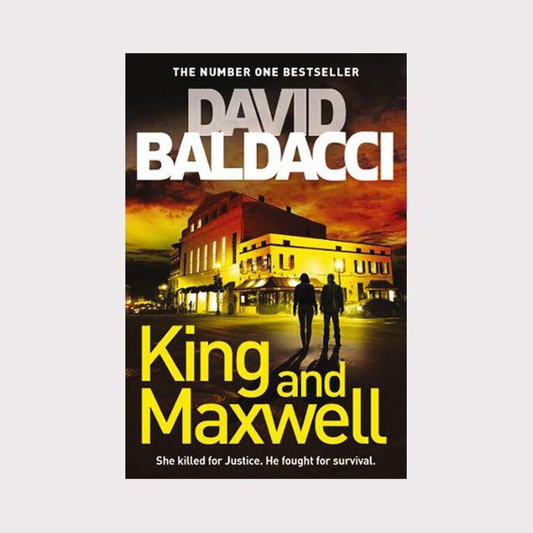King & Maxwell #6 King and Maxwell by David Baldacci, , hi-res