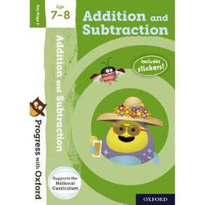 Addition and Subtraction Age 7-8 by Oxford University Press