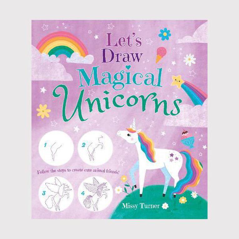 Let's Draw Magical Unicorns by Lisa Regan, , hi-res