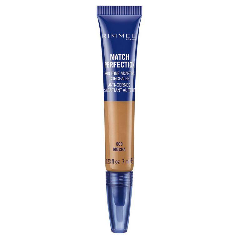 Rimmel Match Perfection Concealer Mocha 060, , hi-res