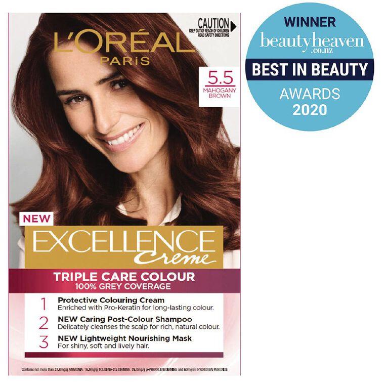 L'Oreal Paris Excellence 5.5 Mahogany Brown, , hi-res
