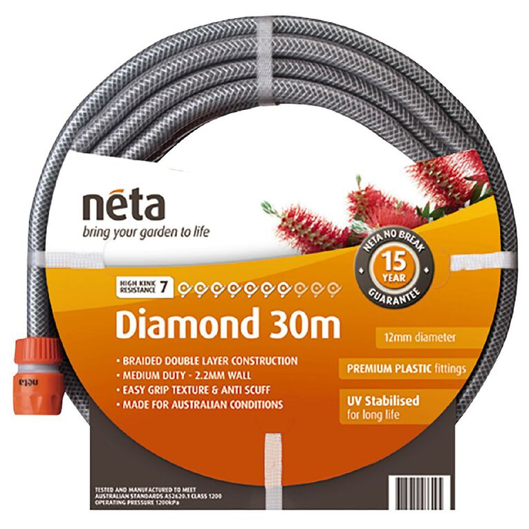 Neta Diamond Hose Fitted 30m, , hi-res