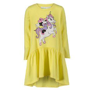 Minnie Mouse Disney Long Sleeve Frill Print Dress