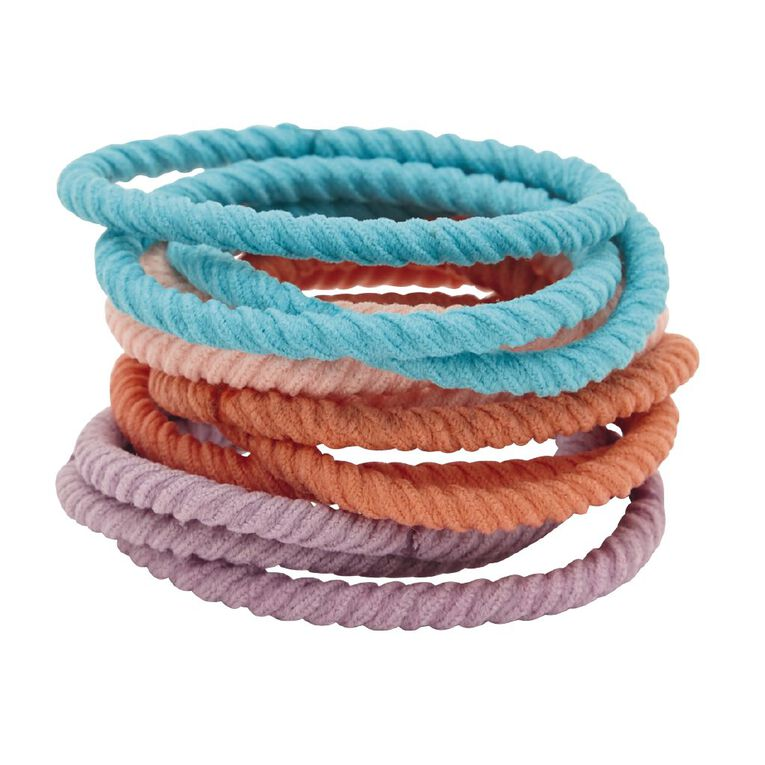 Colour Co. Hair Ties Bright 12 Pack, , hi-res