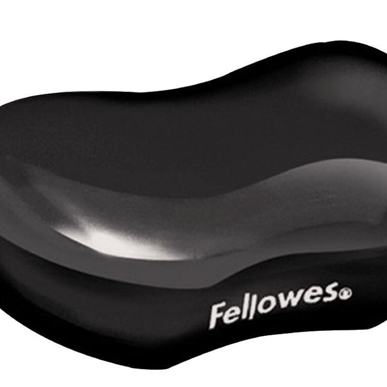 Fellowes Crystal Gel Wrist Rest Black, , hi-res