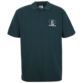 Schooltex Ross Intermediate Short Sleeve Polo with Embroidery