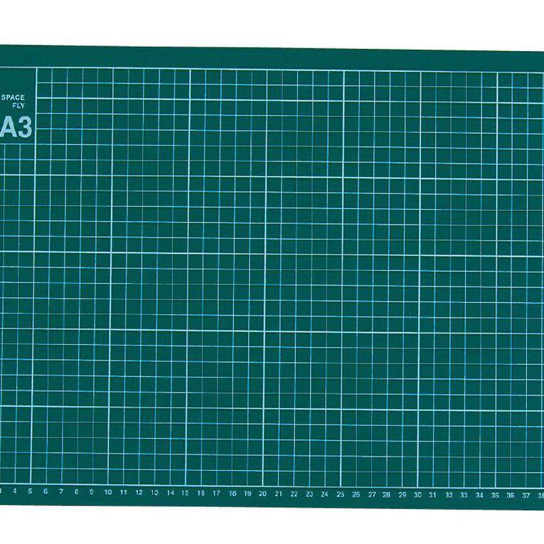 Uniti Cutting Mat 450 x 300 x 3mm A3, , hi-res