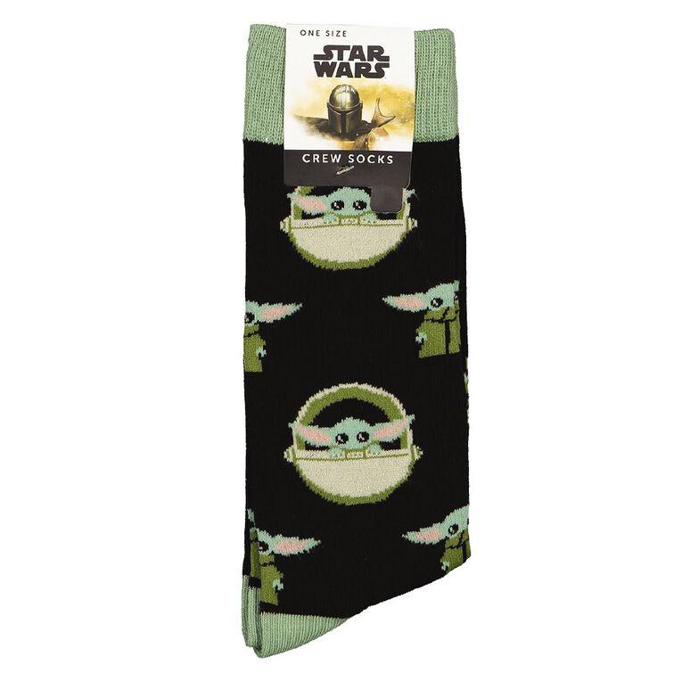 Crazy Socks Men's Crew Socks 1 Pack, Khaki, hi-res