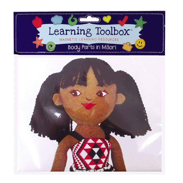Learning Tool Box Magnetic Maori Body Parts Assorted, , hi-res image number null