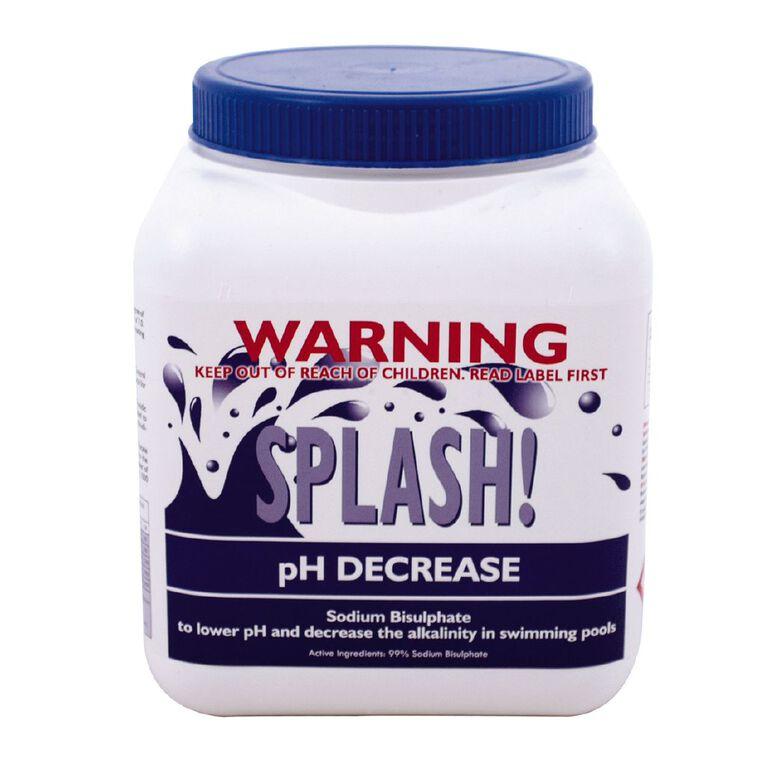 Splash PH Decrease 2kg, , hi-res