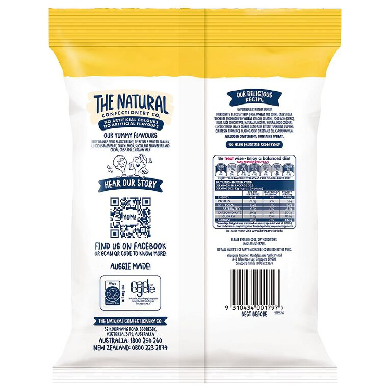 The Natural Confectionery Co. Party Mix 520g, , hi-res