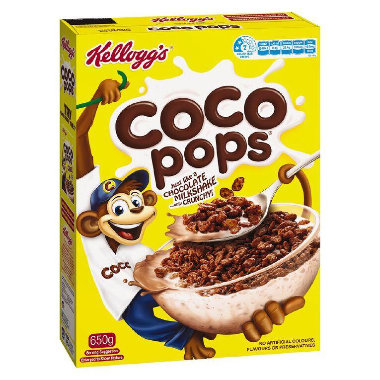 Kelloggs Coco Pops Cereal 650g, , hi-res