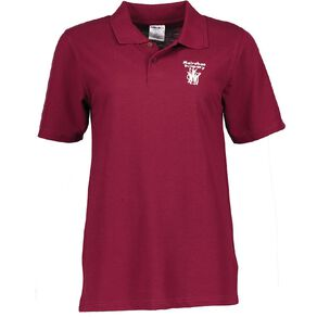 Schooltex Mairehau Primary Short Sleeve Polo with Embroidery