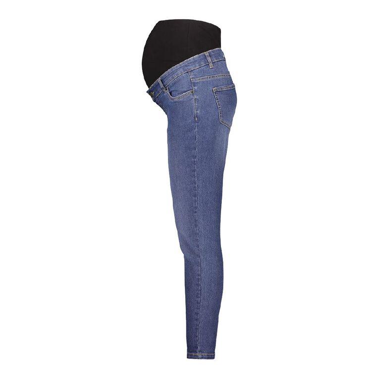 H&H Maternity Over Bump Jeans, Denim Mid, hi-res