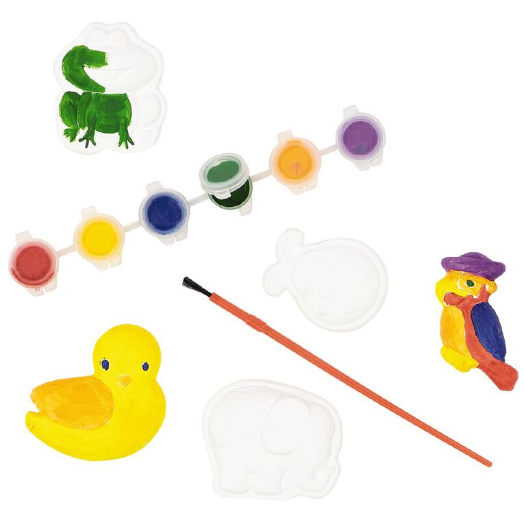 Kookie Paint Your Own Plaster Animals 10 Pack, , hi-res