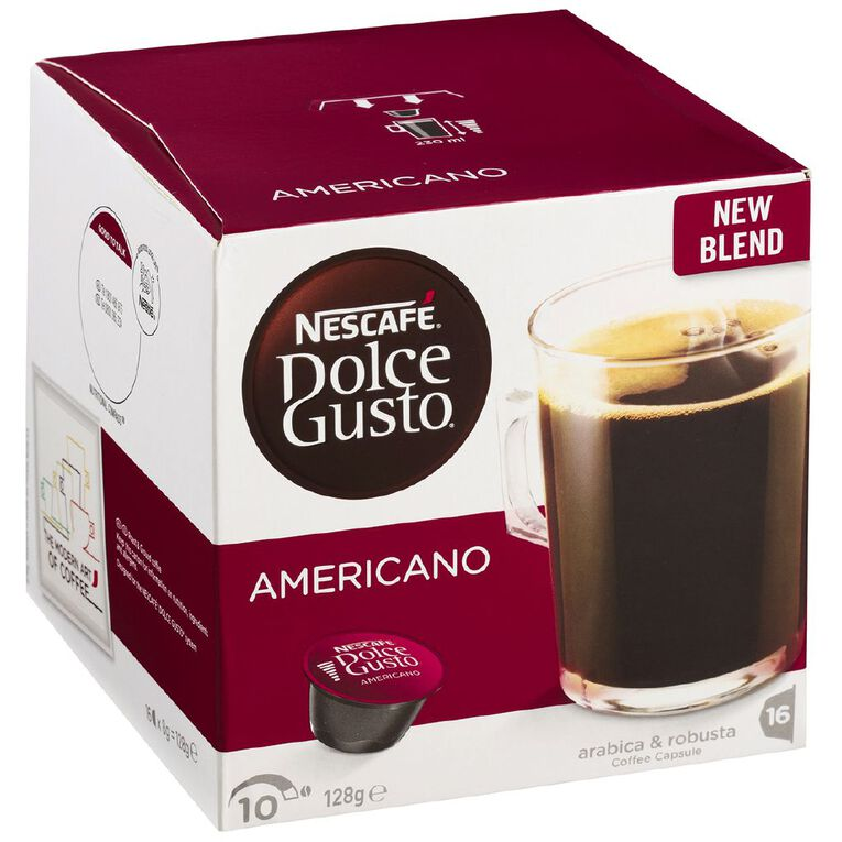 Nescafe Dolce Gusto Capsules Americano 16 Pack, , hi-res